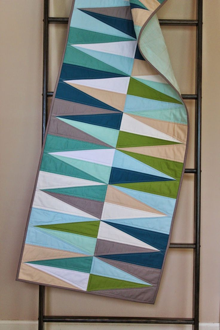 love the color combination. spears table runner 22 x 65 available on etsy