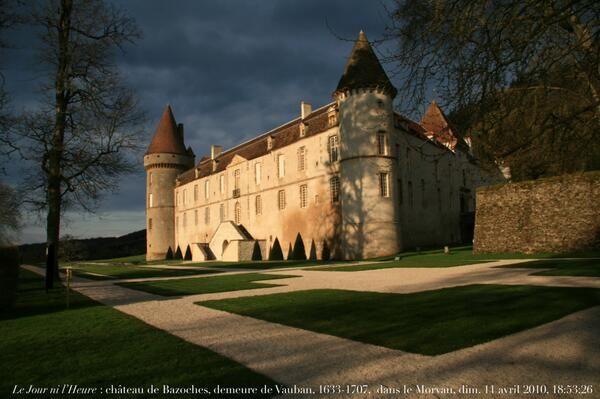 ✅ Château de Bazoches-du-Morvan (Nièvre)