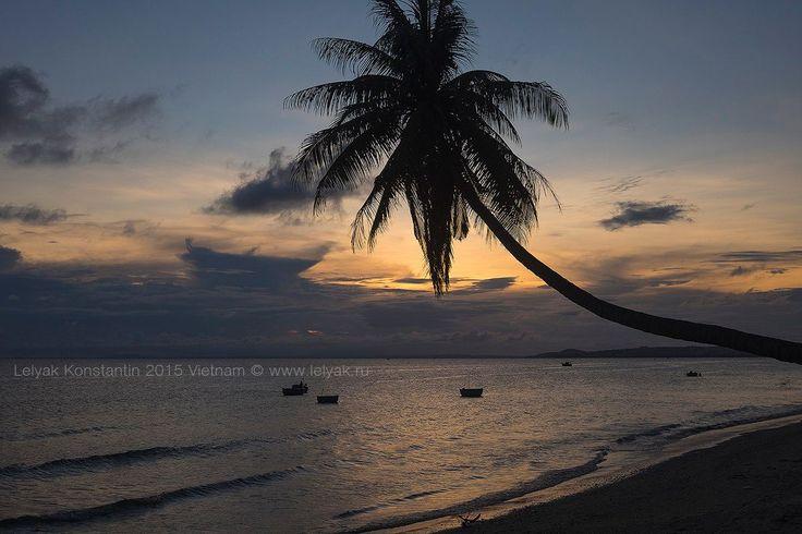 Sunset in Vietnam by Konstantin Lelyak on 500px