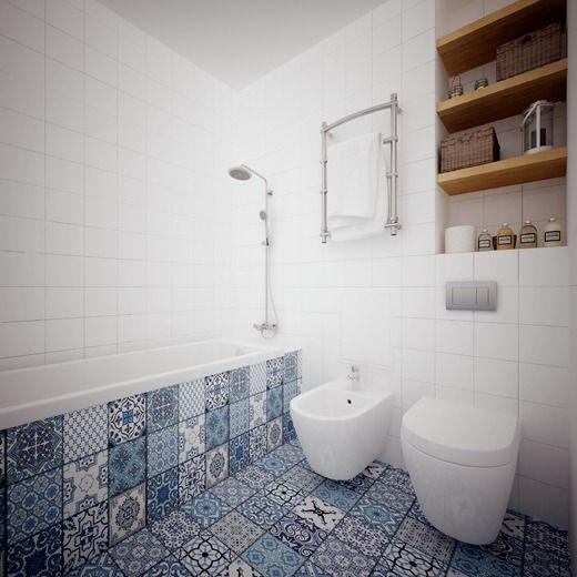 Шведский стиль. Ванная