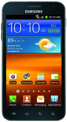 Samsung Galaxy S II Epic Touch 4G Android Phone (Sprint)Samsung Galaxies, Phones Sprint, Ii Epic, Cell Phones, Touch 4G, 4G Android, Epic Touch, Android Phones, Black Sprint