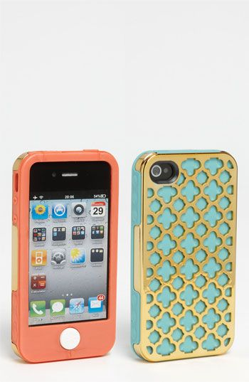 Tech Candy 'Barcelona Gold' iPhone 4 & 4S Case | Nordstrom... MY FAVORITE COLORS! AHHH!