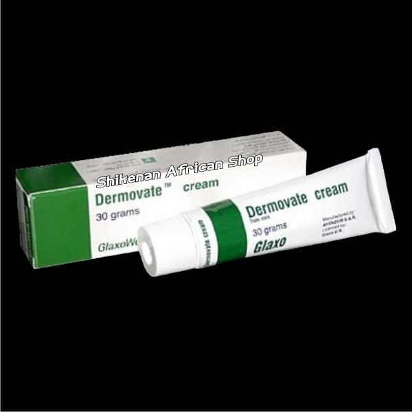 Dermovate England Tube Cream 30g African Beauty