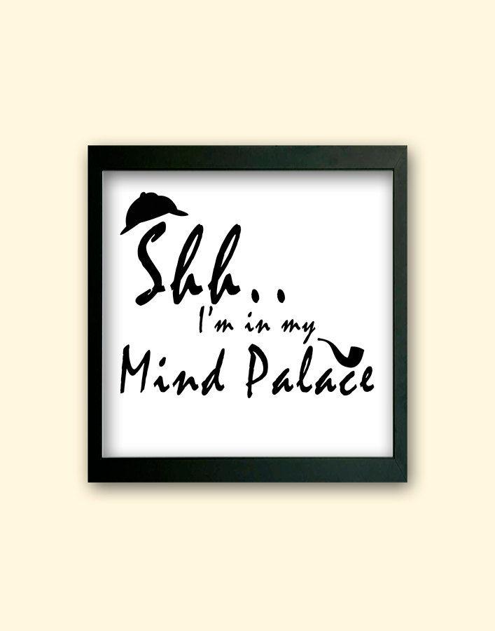 BBC Sherlock Inspired Mind Palace Home by CreationbyEmilyRose, $7.50