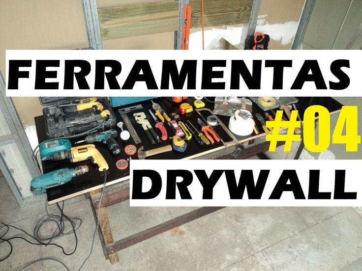Ferramentas para Trabalhar com Drywall