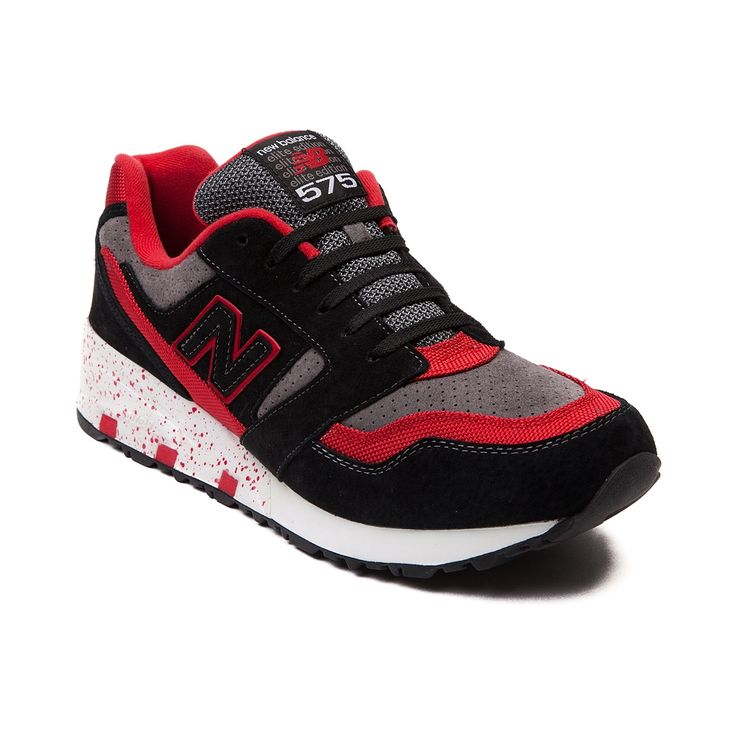 Shop for Mens New Balance 575 Athletic Shoe in Red Black Gray at Journeys  Shoes.