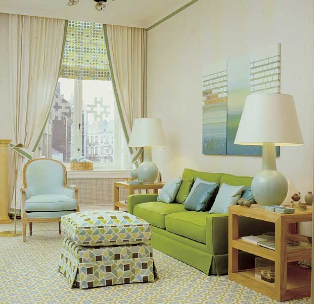 Matters of Style: Friday Vignette- Love this room featured on Matters of Style and can't believe it is 50 years old!