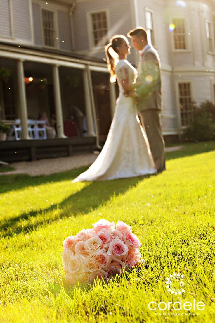 Lyman Esate Lincoln MA Pink Flowers Wedding Venue Boston