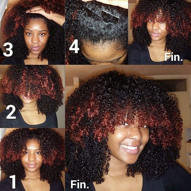 Faux Bangs Natural Hair Find Your Perfect Hair Style