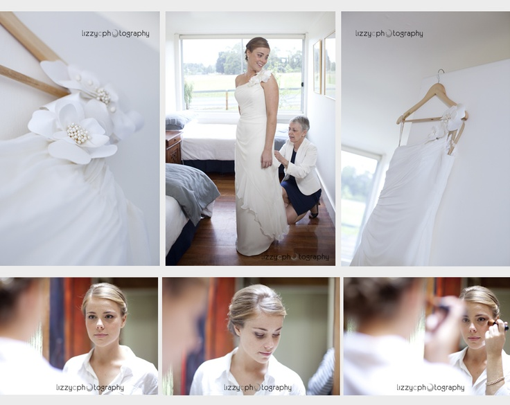 A Trentham Wedding: Macedon Ranges. Love working with Lizzy, she has such talent!  Photo by Lizzy C Photography www.lizzyc.com.au