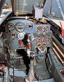 Messerschmitt Me 262 – Cockpit