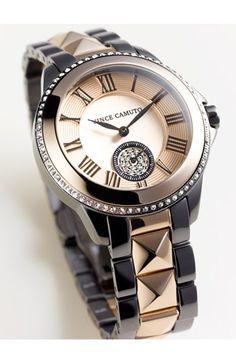 Vince Camuto Bracele     Vince Camuto Bracelet Watch Love the color combo, love the sparkle, love it all!!!