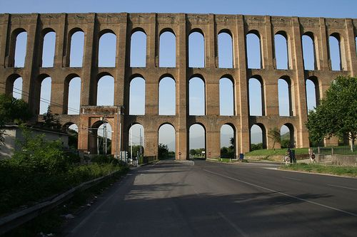"""♕ℛ. UNESCO. ITALY. Vanvitelli aqueduct (we shot our music video for """"The Reaper"""" here :) )"""