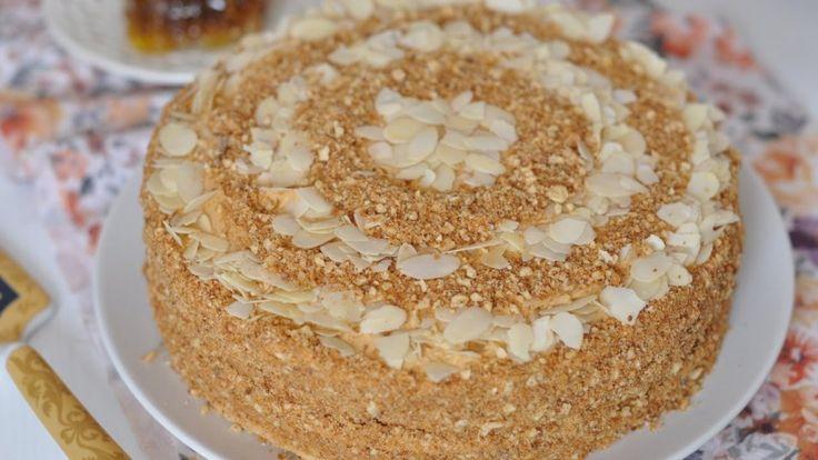 Ароматный медовый торт, или медовик