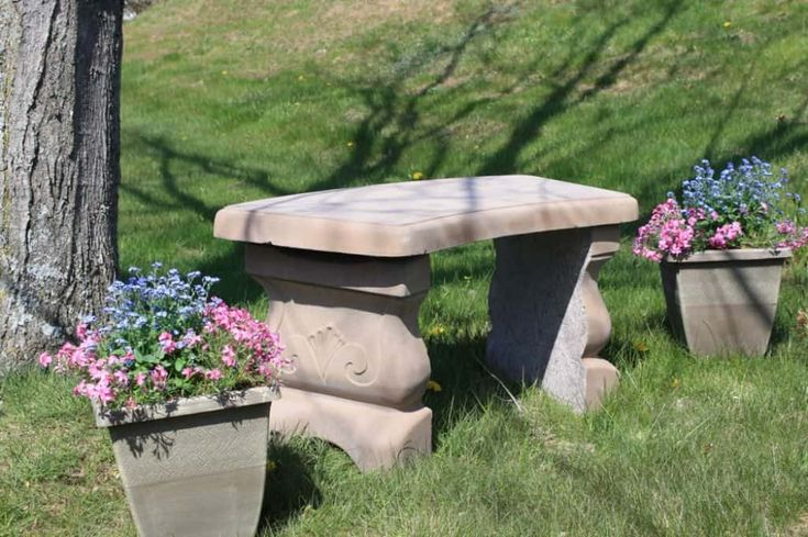 Best 25 Concrete Garden Bench Ideas On Pinterest