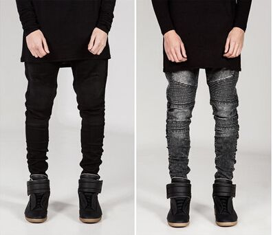 Mens Skinny Jeans Men Runway Distressed Slim Elastic Jeans Denim Biker Jeans Hip Hop Pants Acid Washed Jeans For Men     Tag a friend who would love this!     FREE Shipping Worldwide     Get it here ---> http://onlineshopping.fashiongarments.biz/products/mens-skinny-jeans-men-runway-distressed-slim-elastic-jeans-denim-biker-jeans-hip-hop-pants-acid-washed-jeans-for-men/