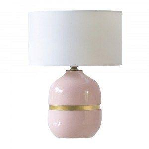 Ceramic Macaroon Pink Table Lamp