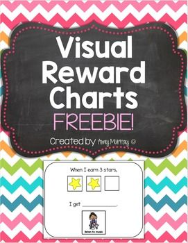 Visual Reward Chart  FREEBIE! Great for students with Autism!  Amy Murray - Teaching Exceptional Kinders