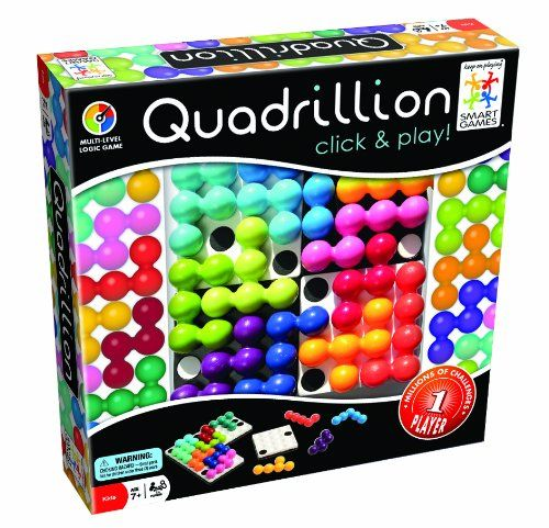 Amazon.com: SmartGames Quadrillion: Toys & Games