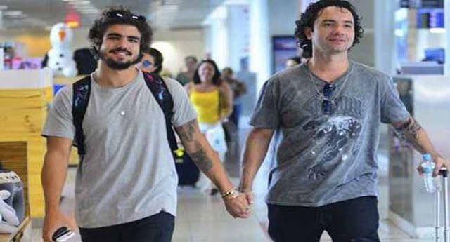 Quero Saber: Caio Castro e Marco Luque assumem relacionamento gay e são flagrados em clima de 'romance'
