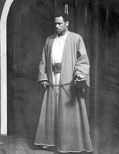 Paul Robeson in Othello