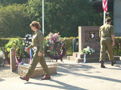 101st Airborne Division herdenking