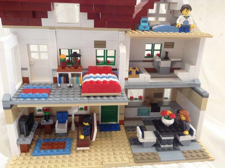 Lego house traditional interior