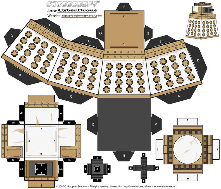 Cubee - Special Weapons Dalek by CyberDrone.deviantart.com on @deviantART