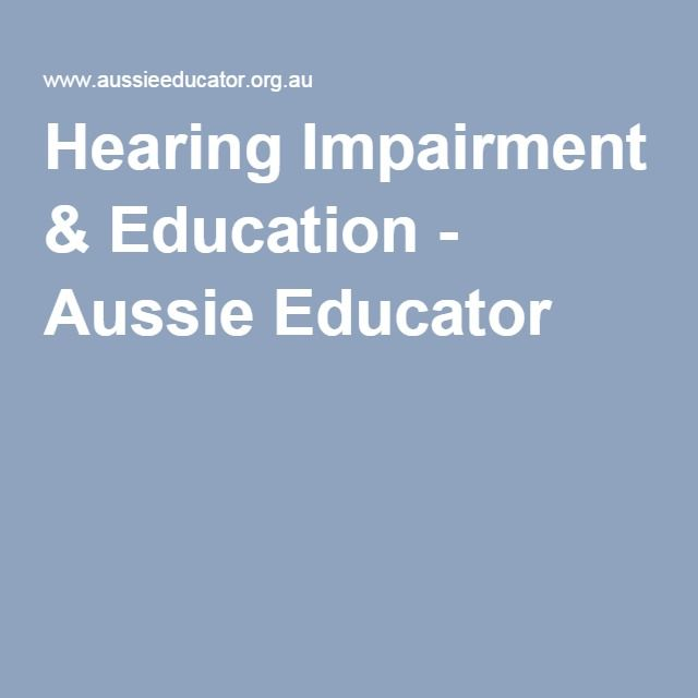 Facilitating communication with hearing impaired (including aids and appliances, non-verbal gestures, universal signage) Hearing impairment resources Comment: An excellent resource for all aspects of hearing impairment including Australian, state and international websites