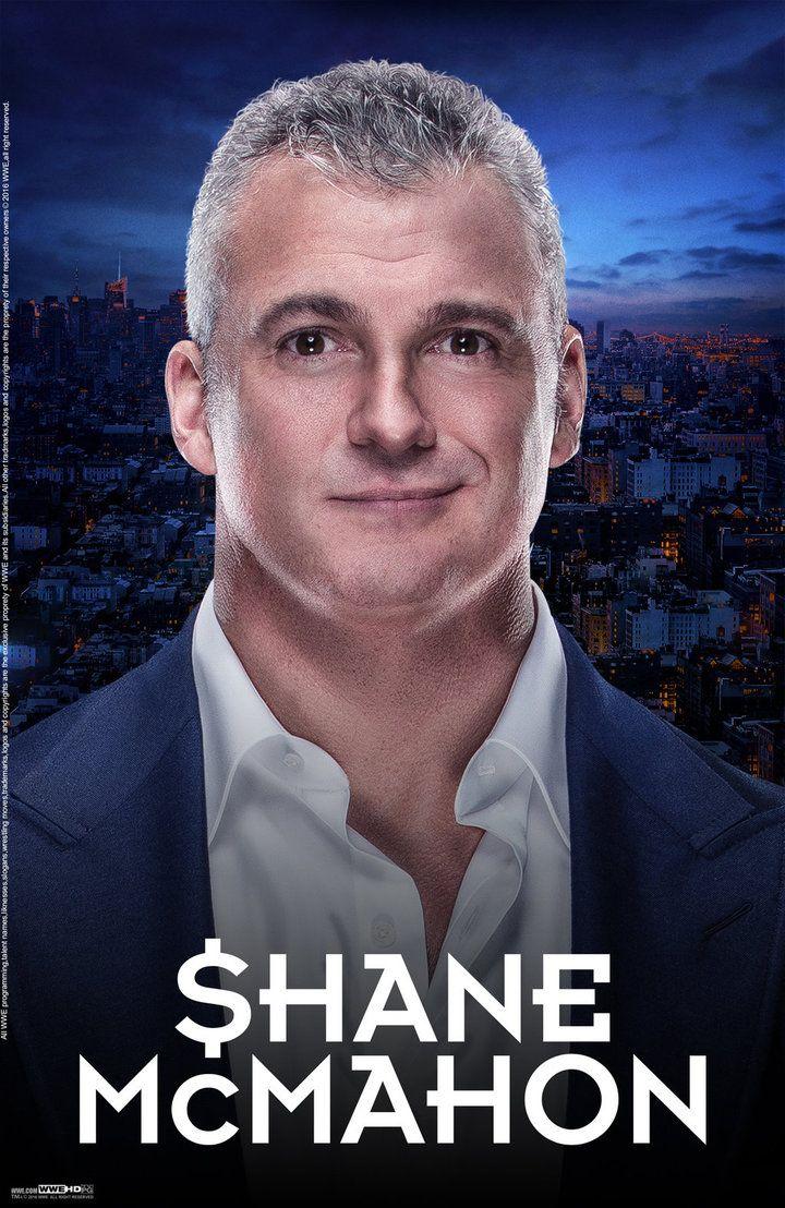 WWE Shane McMahon 2016 Poster by edaba7.deviantart.com on @DeviantArt