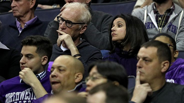 Julia Louis-Dreyfus and Husband to Cheer on Son at March Madness Games  The 'Veep' star and husband Brad Hall will attend the basketball games for their alma mater Northwestern University where they met and their son Charlie Hall is now a forward on the school's team.  read more