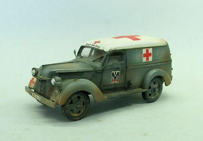 Ford from German Red Cross, in WWII