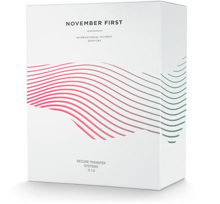 Make – Identity for November First, international payment services