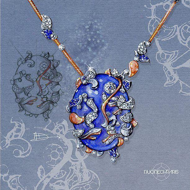 Créations d'Aurélie Dufour. Les mouvements, les formes et les nuances d'une végétation luxuriante parent avec harmonie chacun des bijoux sacrés d'Aurélie, ravissent les yeux, l'esprit, et invitent à découvrir sa perception symbolique et audacieuse du monde. L'intégralité de sa collection est présentée sur le site www.duodeci.fr Lien dans la bio. #highjewelryartist #bijou #FineJewelleryCouture #aureliedufour #finejewelry #flore #gardenofeden #fashion #finejewelrydesigners…