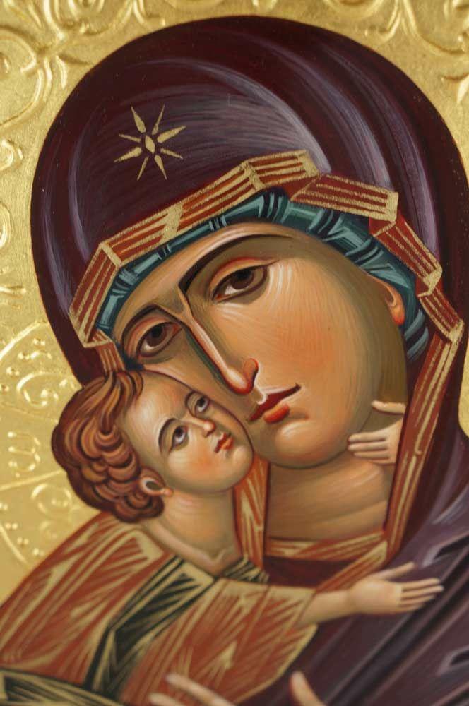 Vladimirskaya Icon Detail