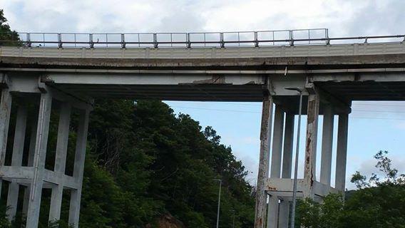 il popolo del blog,notizie,attualità,opinioni : Mi hanno inviato delle foto del Ponte autostradale...