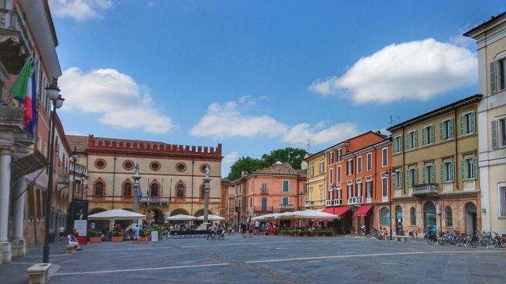 Piazza del Popolo (main square) - Ravenna, Italy