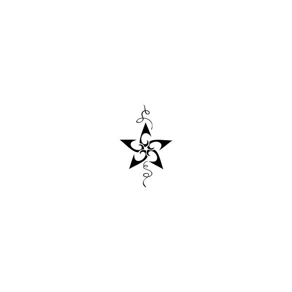 Star Tattoo Designs | Tattoo Hunter featuring polyvore women's fashion accessories