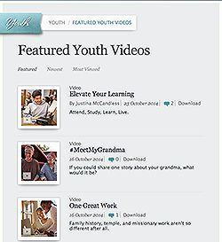 featured youth videos