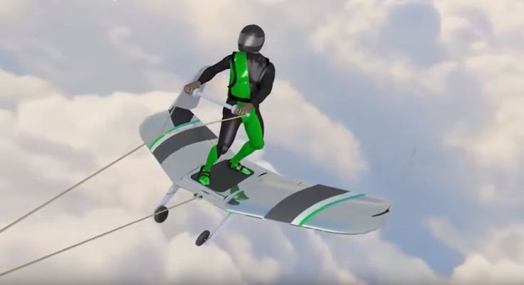 Wingboard - You Will Surf Through The Sky Like Silver Surfer