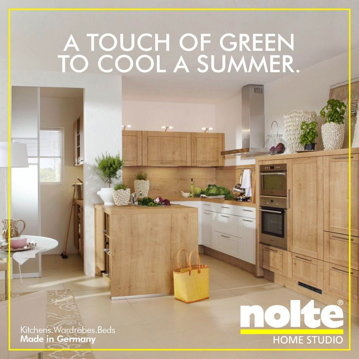 Fresh This summer add greenery to your kitchen to give a cooling effect Vienna kitchen