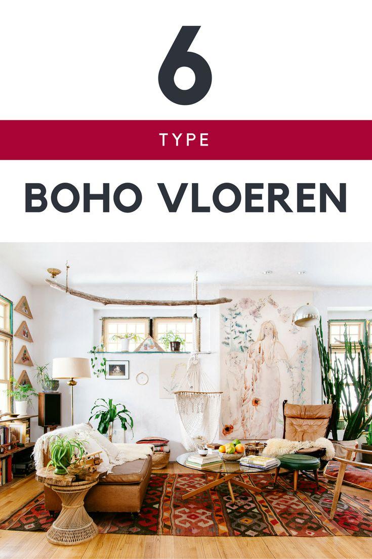 Een #bohemian vloer. Jij houdt ervan! Welke vloeren kan je gebruiken?