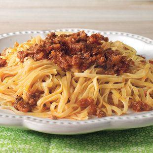 Maccheroncini al rag di campofilone from la cucina for Pasta tipica italiana