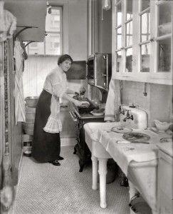 kitchen, 1910
