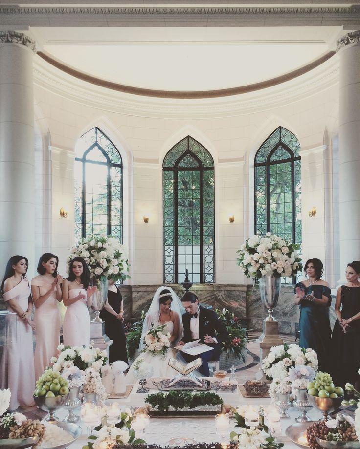 Bits and Blooms Inc. Sofreh Aghd Persian Wedding - Casa Loma Toronto