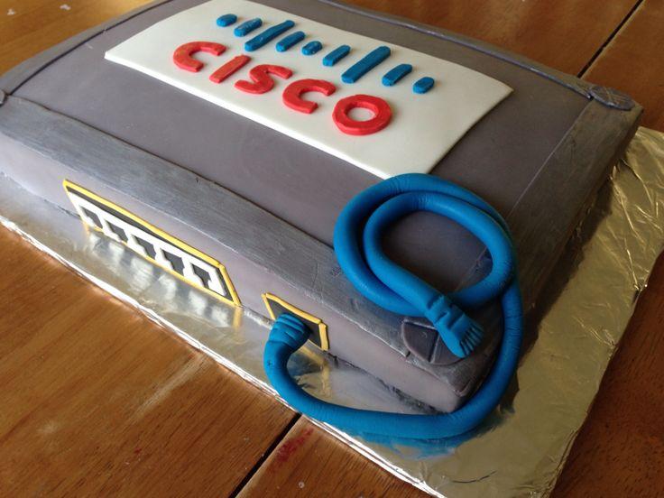 Cisco Switch Birthday Cake Birthday Cakes Pinterest