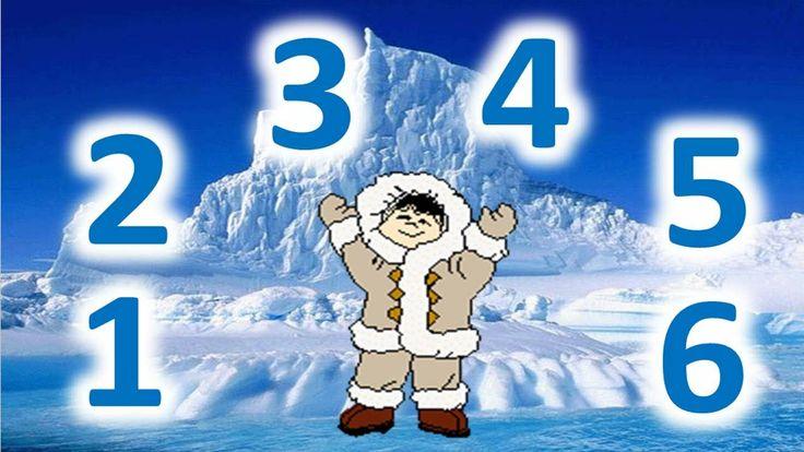 Versini - La danse des esquimaux - YourKidTv Chiffres de 1 à 6