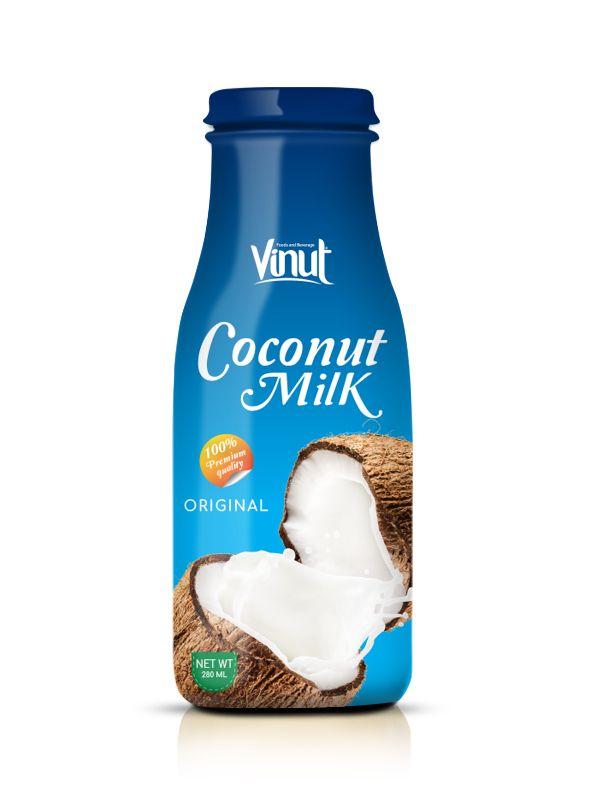 Supplier_Glass_bottle_Original_Coconut_milk_280_ml