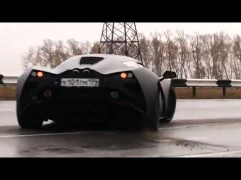 The Russian Supercar: Marussia   YouTube