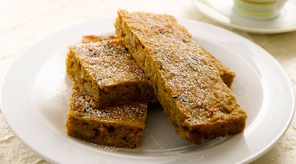 Spiced Apple, Carrot and Zucchini Bar